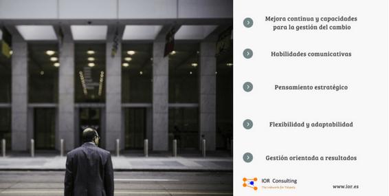 interim manager atributos