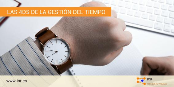 Las 4D de la gestión del tiempo