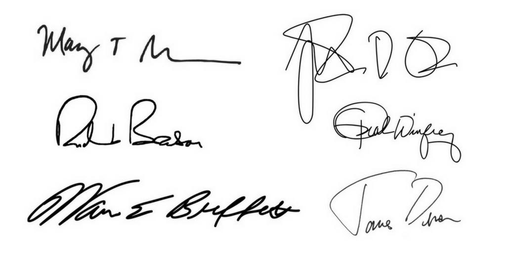 análisis grafológico firmas
