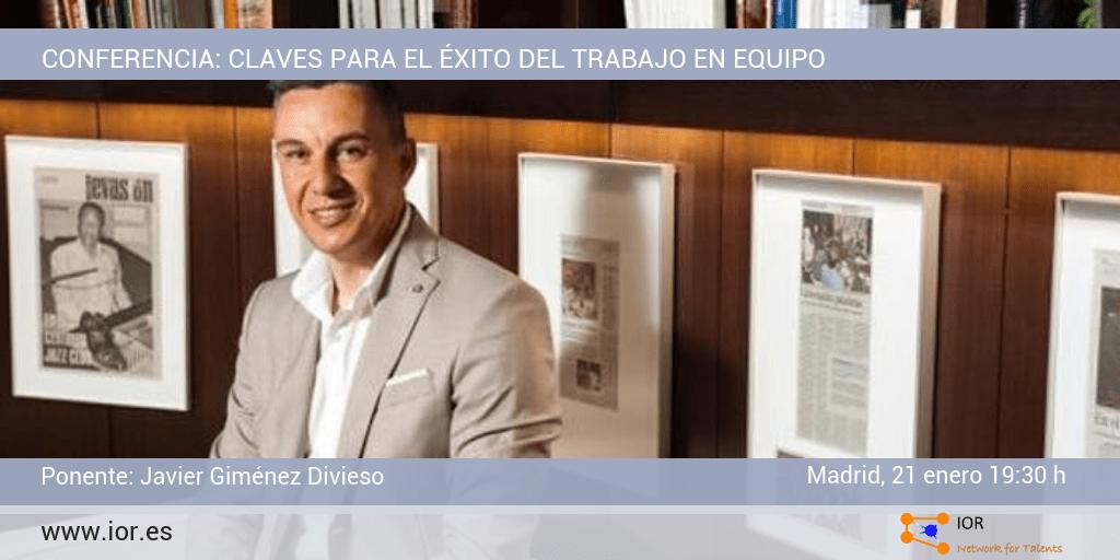 Conferencia Javier Giménez Divieso