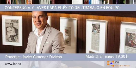 Conferencia Javier Giménez