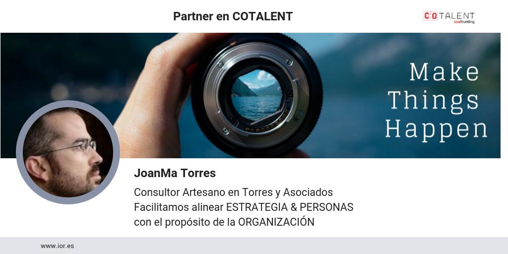 Juanma Torres, partner en Cotalent