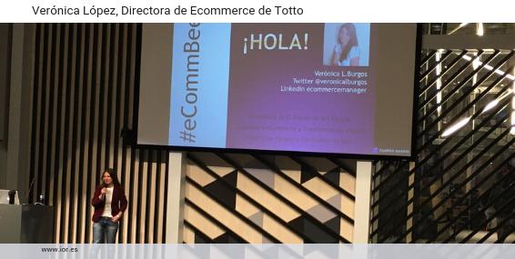 Verónica López Burgos, nueva directora de Ecommerce en Totto