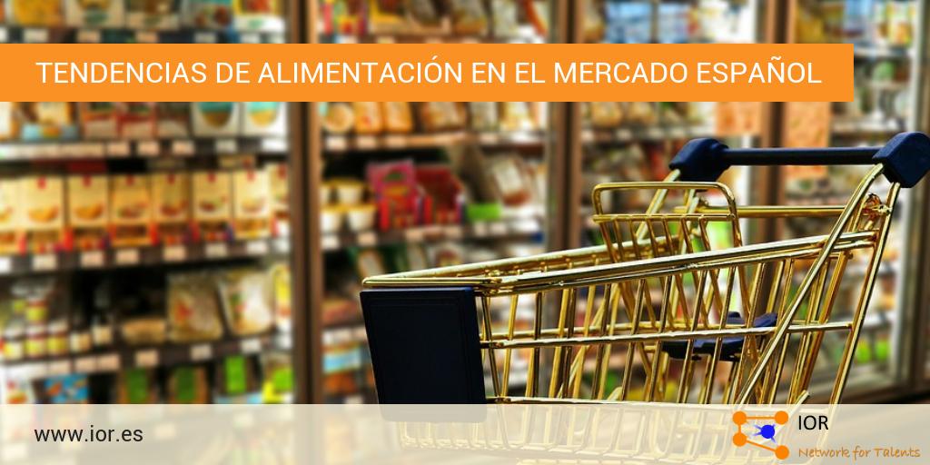 Tendencias de alimentación en el mercado español