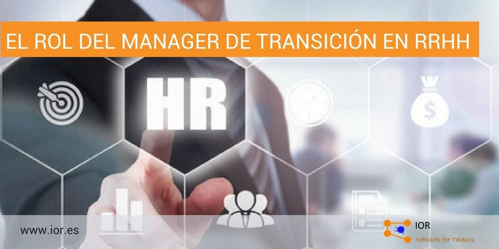 interim manager rH