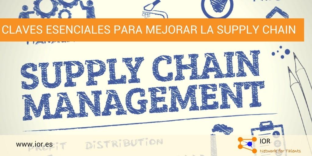 Claves esenciales para mejorar la supply chain