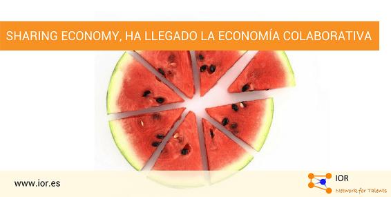 Sharing Economy, ha llegado la economía colaborativa