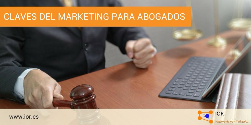 Claves del marketing para abogados