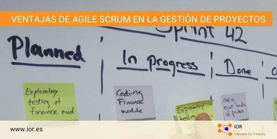 agile scrum gestión proyectos
