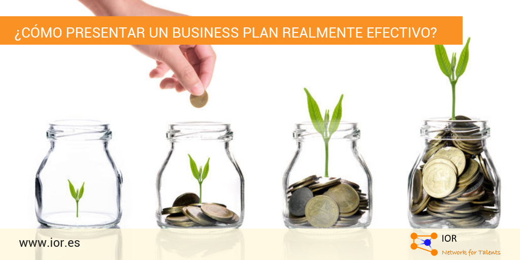 Presentar un business plan