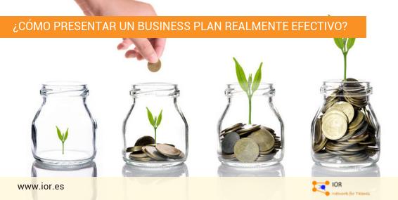 cómo presentar business plan