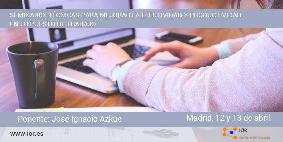 seminario productividad Ignacio Azkue