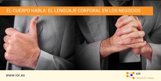 lenguaje corporal en los negocios