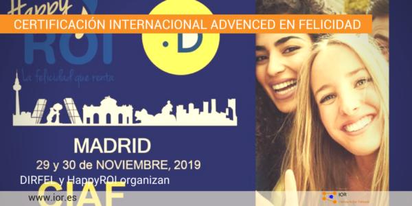 certificación CIAF Madrid