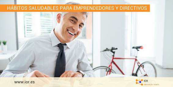 Hábitos saludables para directivos y empresarios