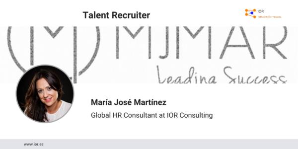 María José Martínez se incorpora como Global HR Consultant a la red de selección colaborativa IOR Network for Talents