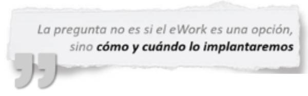10 Evidencias del eWORK y la nueva anormalidad laboral