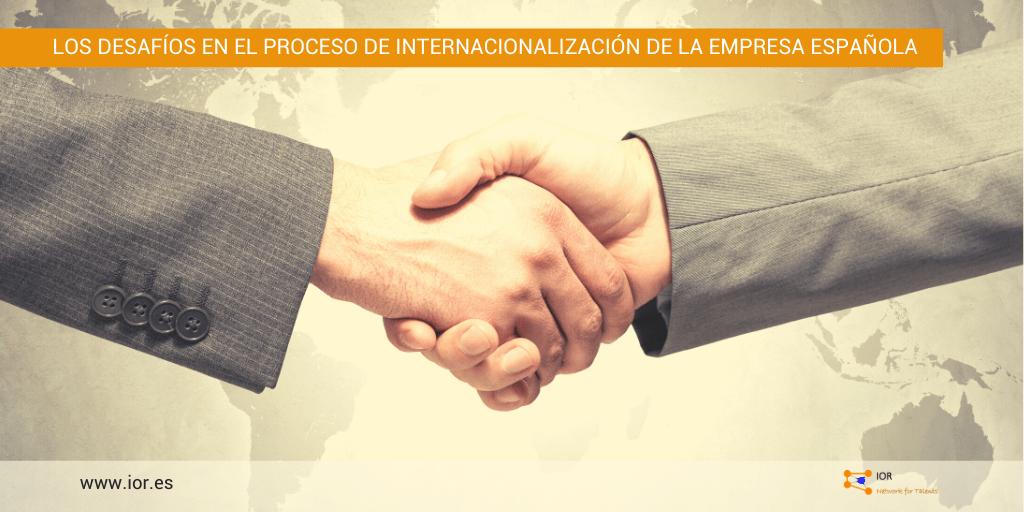 Internacionalización empresa española