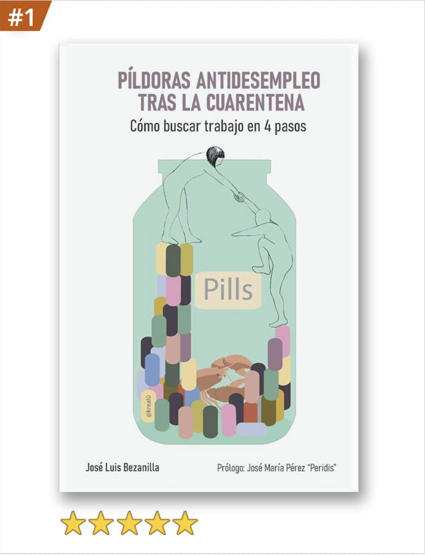 Libro píldoras antidesempleo tras la cuarentena